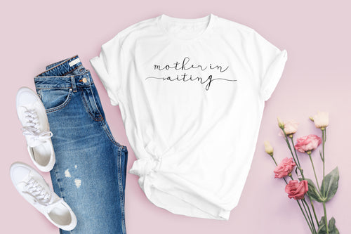 Mother In Waiting Tee - Kierra B Art