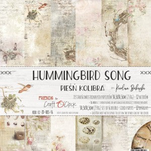 Craft O'Clock Hummingbird Song Kit 12x12
