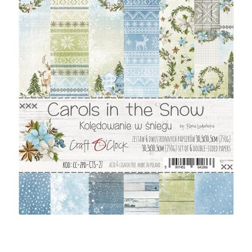 Craft O'Clock Carols in the Snow KIt 12x12