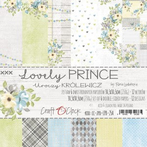 Craft O'Clock Lovely Prince Kit 12x12