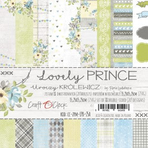 Craft O'Clock Lovely Prince Bloc 6x6