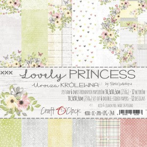 Craft O'Clock Lovely Princess Kit 12x12