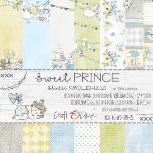 Craft O'Clock Sweet Prince Kit 12x12