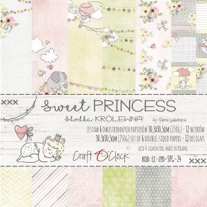 Craft O'Clock Sweet Princess Kit 12x12