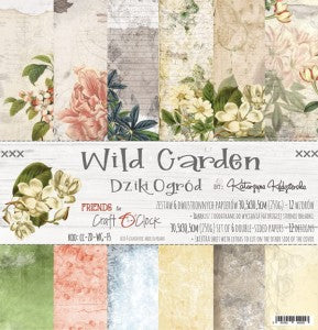 Craft O'Clock Wild Garden Kit 12x12
