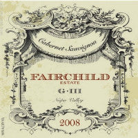 FAIRCHILD G-III CABERNET SAUVIGNON, NAPA VALLEY 2014