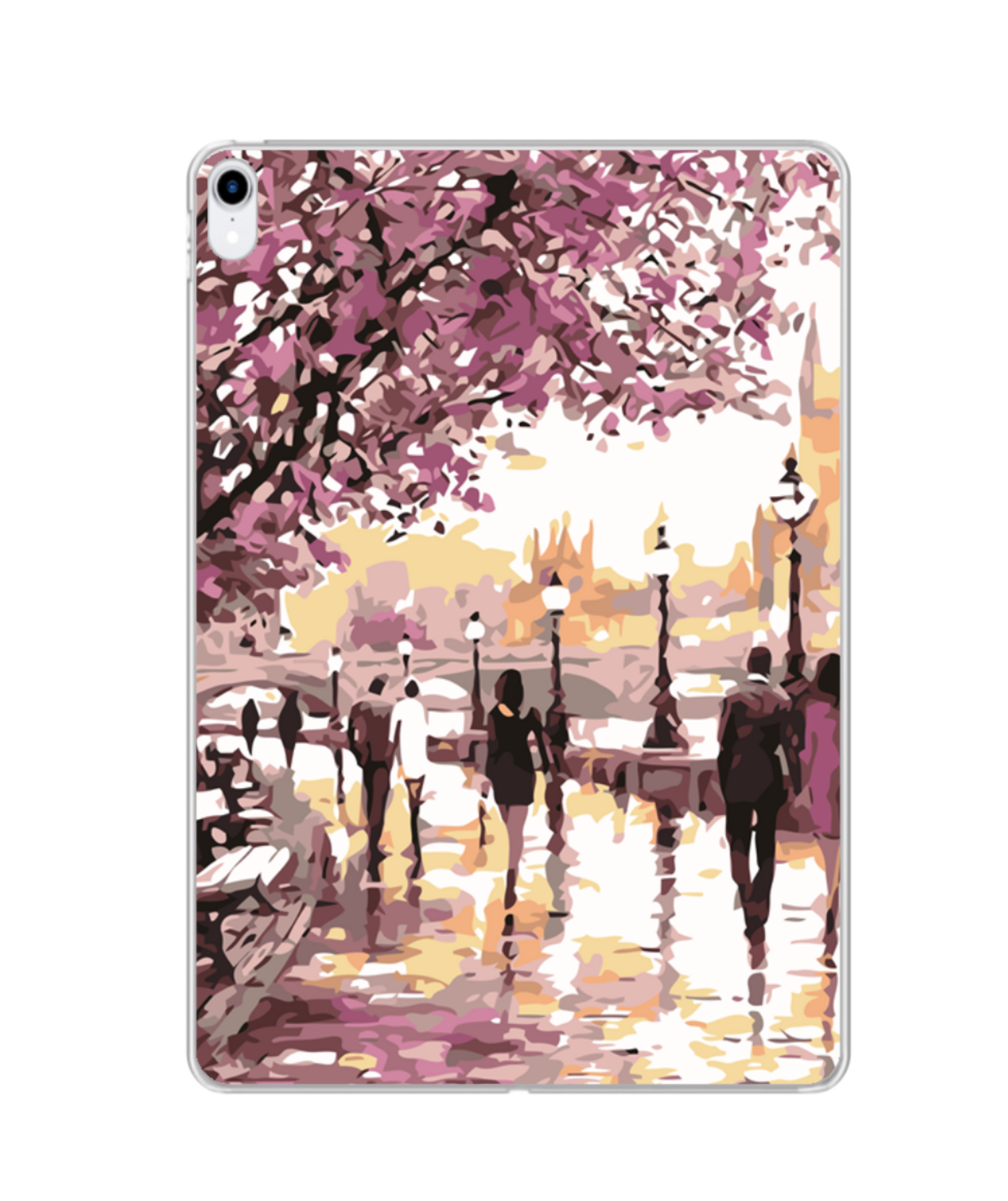 Photo Print Silicone iPad case | MF044