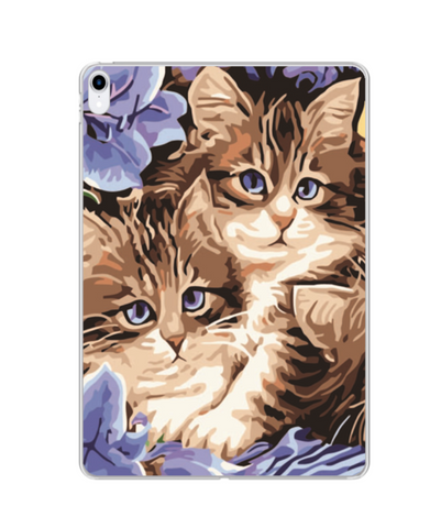Custom UV Photo Print iPad Case | Silicone | MF066