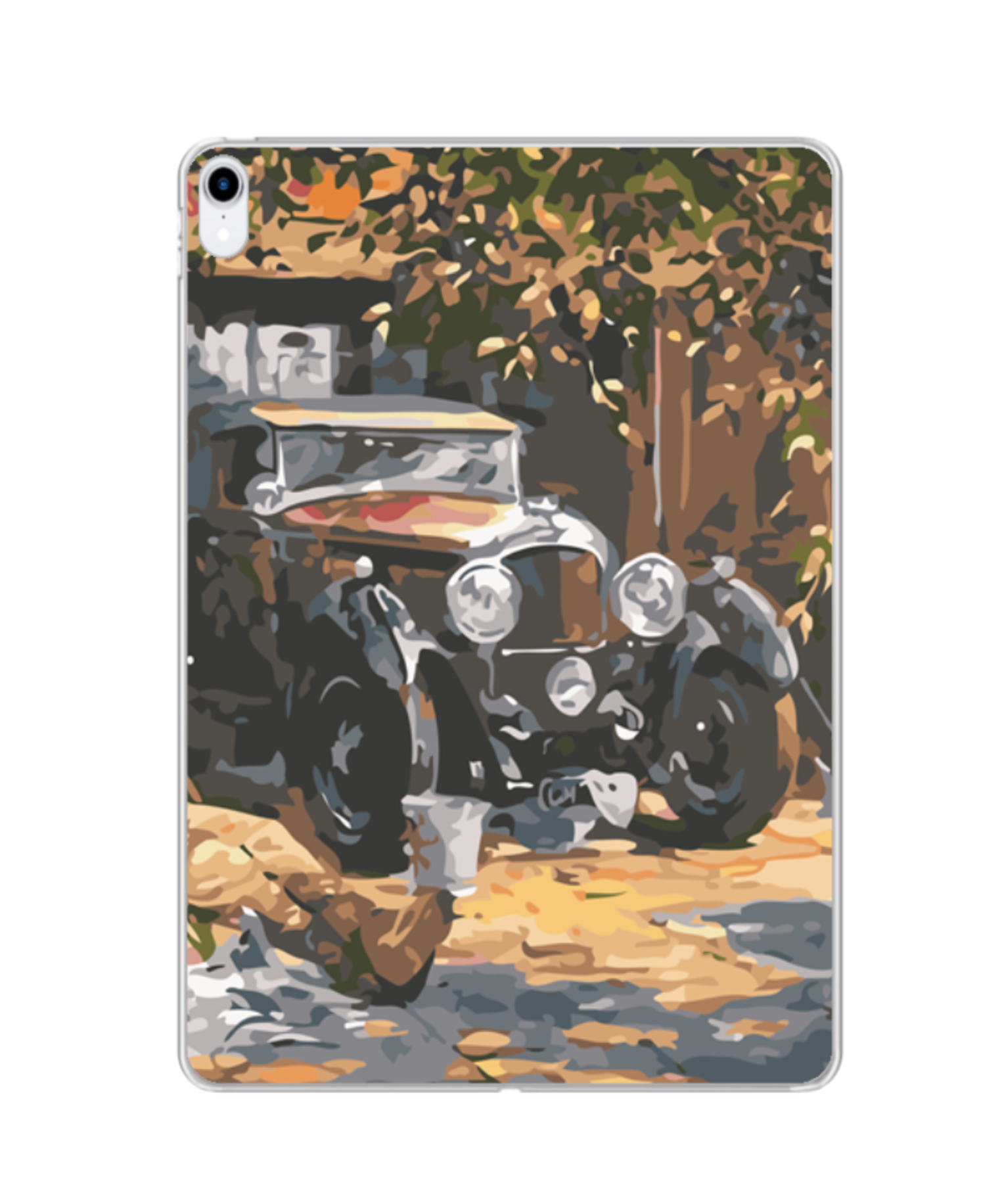 Photo Print Silicone iPad case | MF129