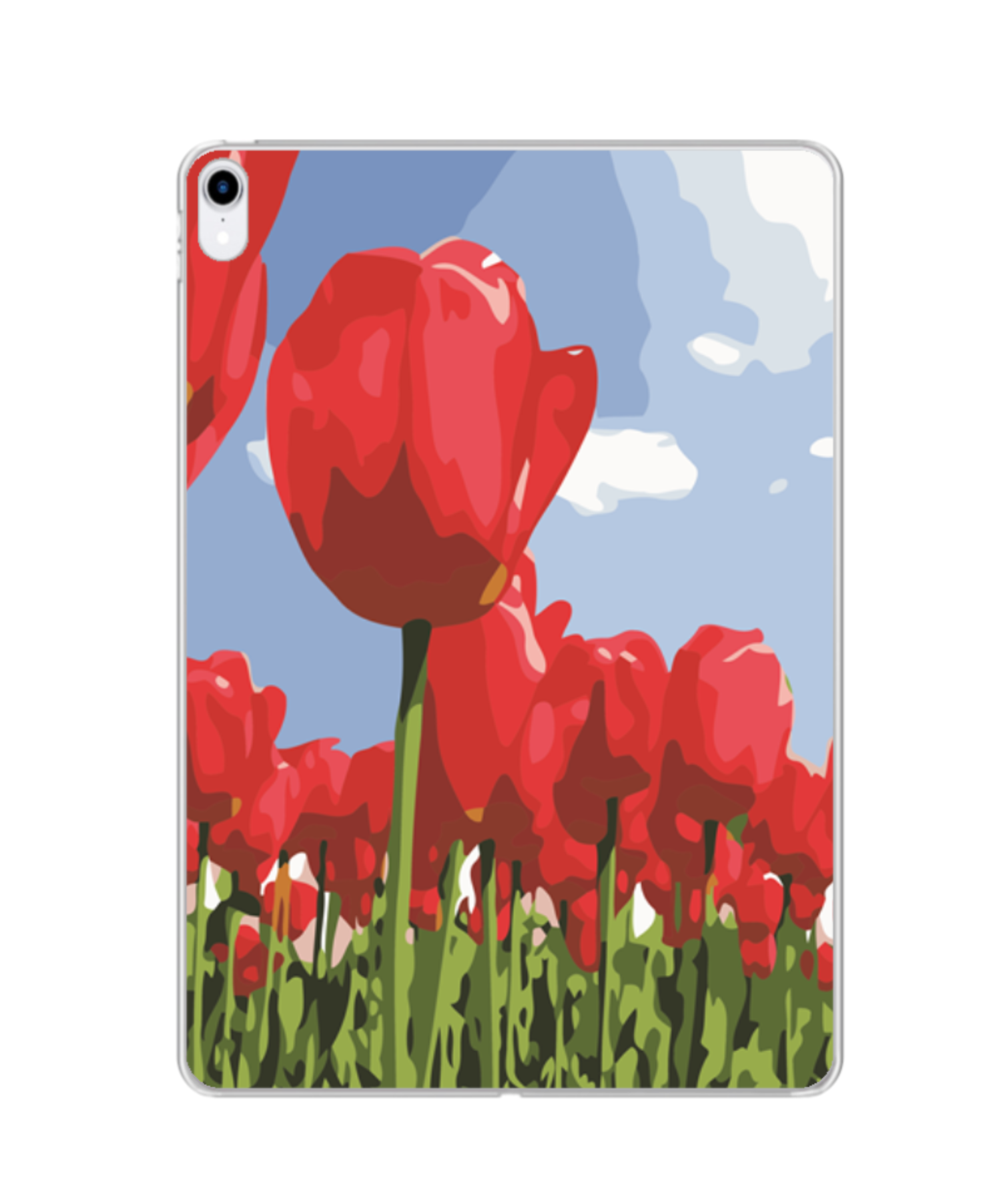 Photo Print Silicone iPad case | MF197