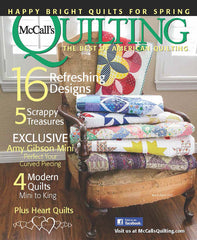 Mini version featured in Mar/Apr 2015 McCall's Quilting Magazine!