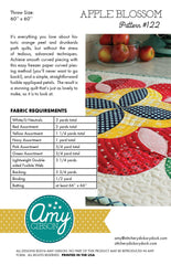Apple Blossom Quilt Pattern