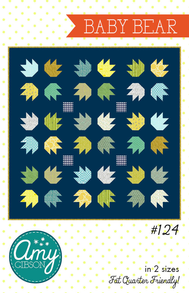 Baby Bear Quilt PDF Pattern