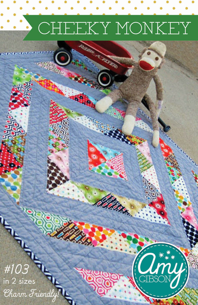 Cheeky Monkey Quilt PDF Pattern
