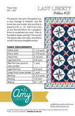 Lady Liberty Quilt Pattern