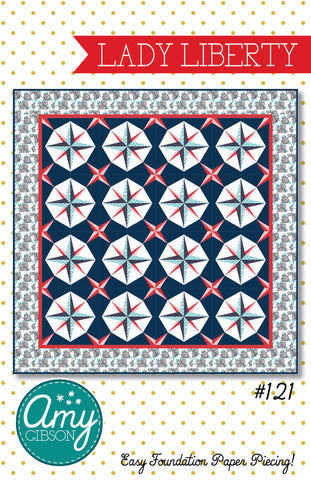 Lady Liberty Quilt PDF Pattern