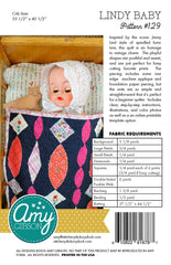 Lindy Baby Quilt Paper Pattern