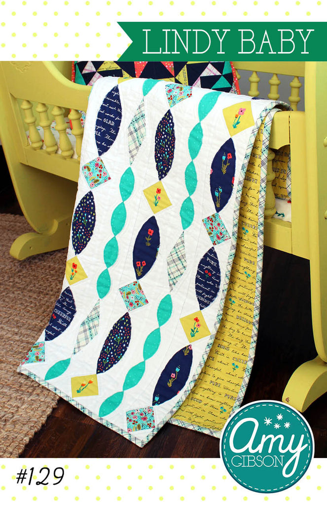 Lindy Baby Quilt Pattern PDF