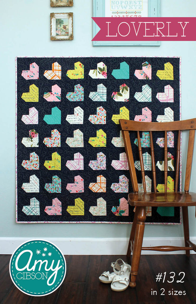 Loverly Quilt Paper Pattern