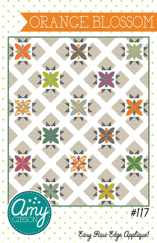 Orange Blossom Quilt PDF Pattern