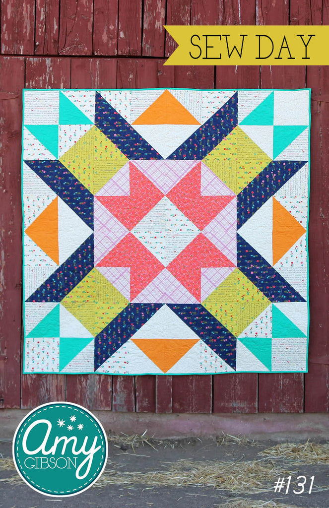 Sew Day Quilt Pattern PDF