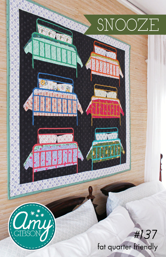 Snooze Quilt Paper Pattern