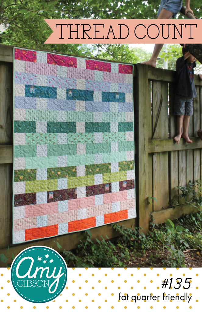 Thread Count Quilt Paper Pattern