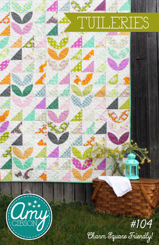 Tuileries Quilt Paper Pattern