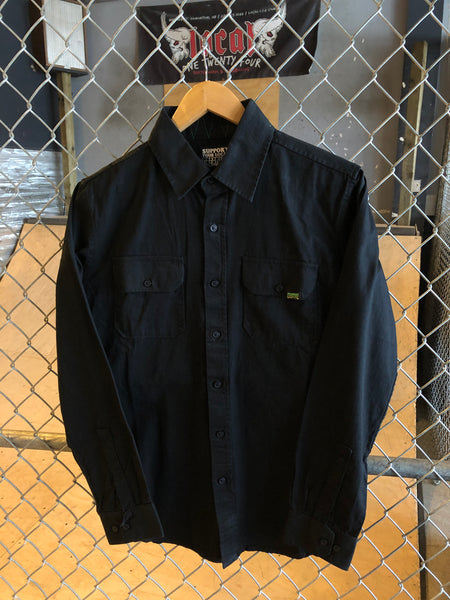 CREATURE CORONER LONG BUTTON UP