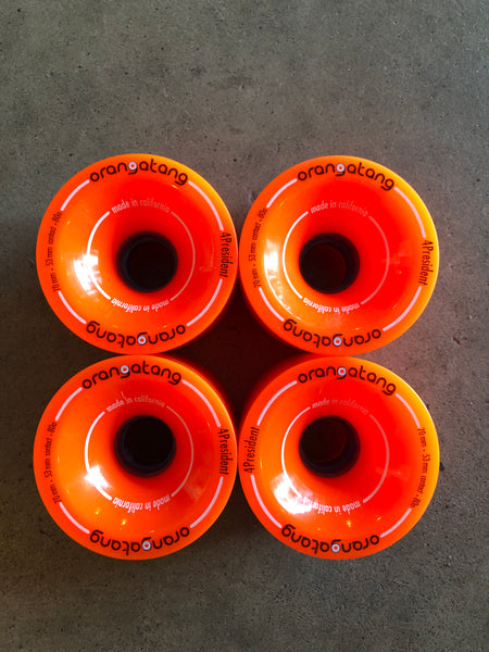 ORANGATANG 4PREZ WHEELS 70mm