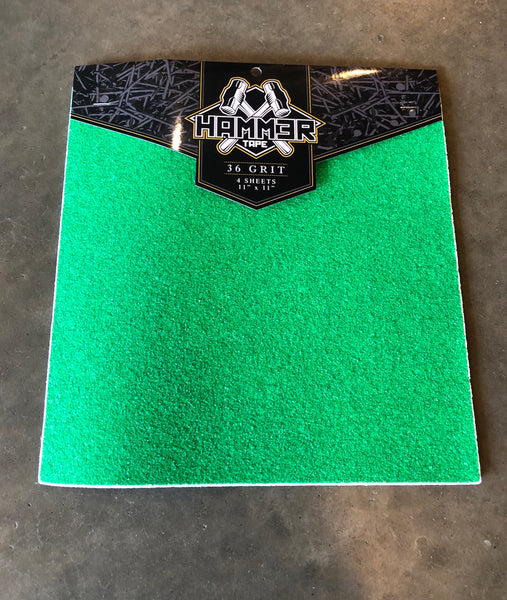 HAMMER COURSE GRIP 4 PACK 11''x11''