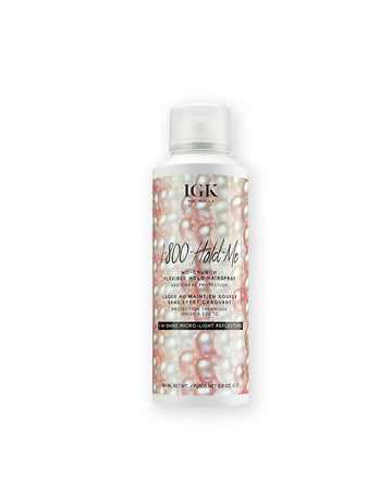 IGK 1-800-Hold-Me No-Crunch Flexible Hold Hairspray