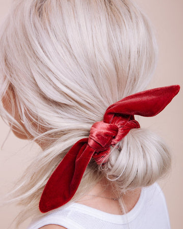 Scrunchie with Tie (Velvet)