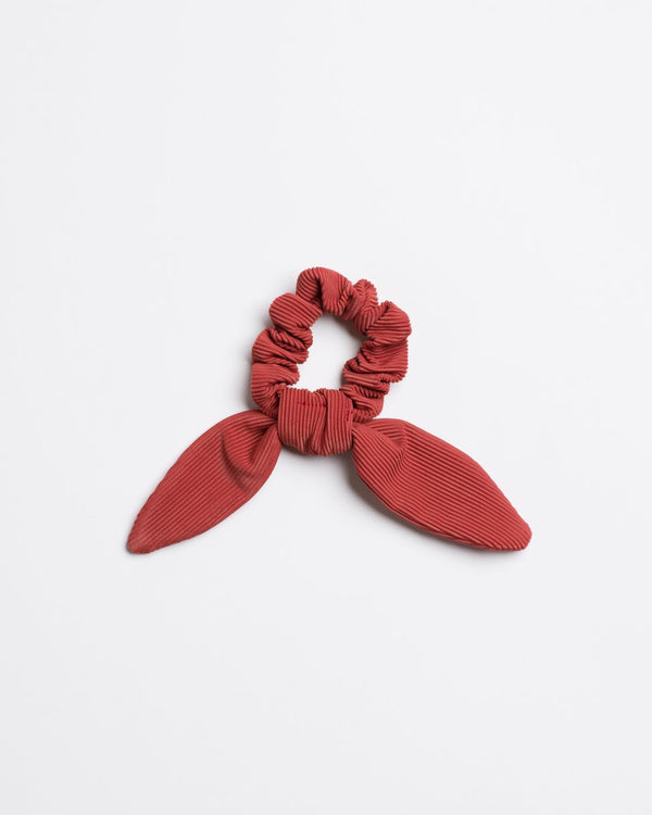 Scrunchie with Tie (Ribbed)