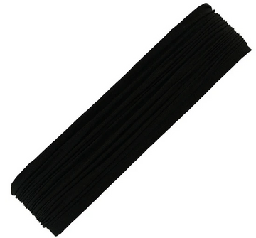 Rue #2 Black Sports Wrap/ Face Scarf