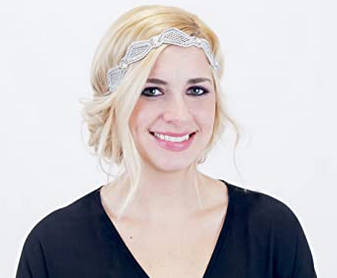 Mesha Iridescent - Detachable Stretch Headband