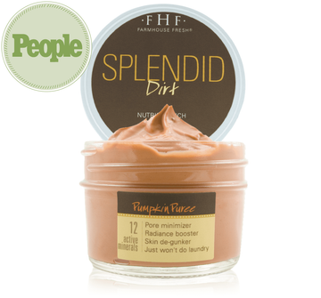Farmhouse Fresh Splendid Dirt® Nutrient Mud Mask with Organic Pumpkin Puree