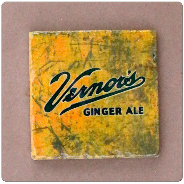 "Vernors 4"" x 4"" Coaster"