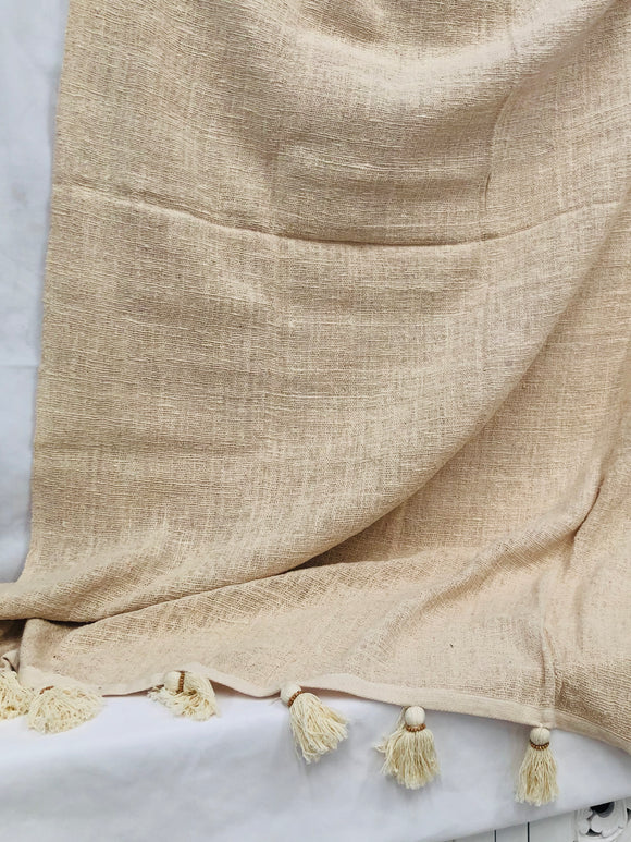 DESERT LINEN THROW
