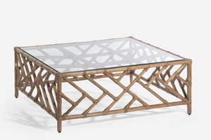 CABO RATTAN COFFEE TABLE
