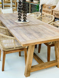 LINCOLN RUSTIC DINING TABLE