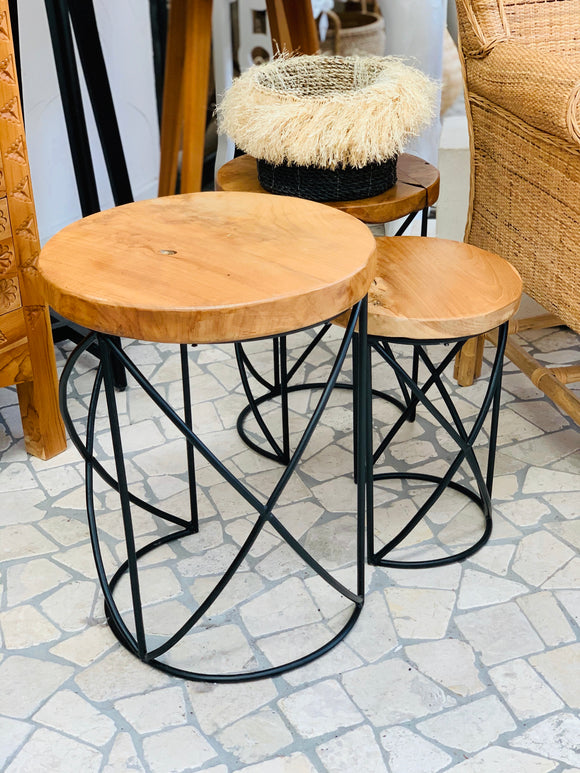 QUAY SIDE TABLE TRIO