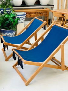 NAUTICAL BEACH CHAIRS