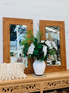 RECYCLED TEAK MIRRORS