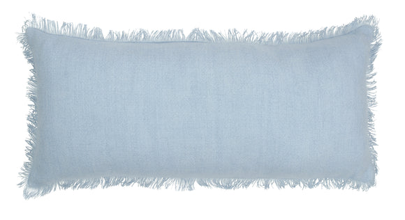 ISSEY LONG PALE BLUE CUSHION