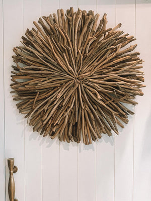 RECLAIMED DRIFTWOOD WALL ART
