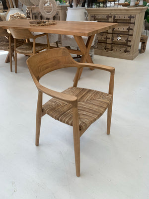 KENNEDY TEAK ARM CHAIR