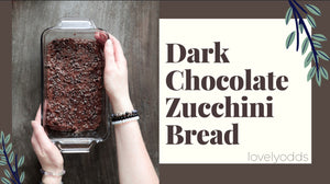 Dark Chocolate Zucchini Bread Recipe