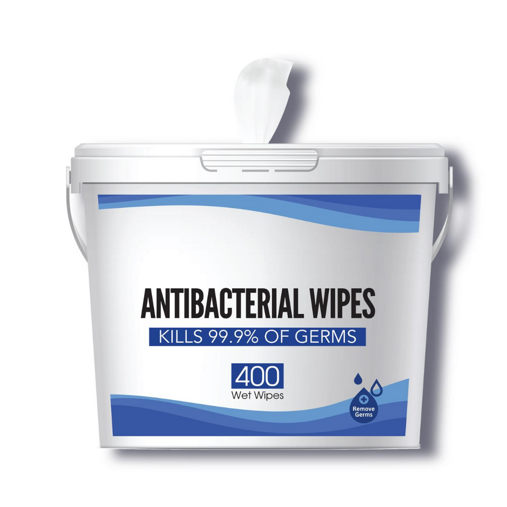 Anti-Bacterial Wet Wipes - Kills 99.9% of Germs