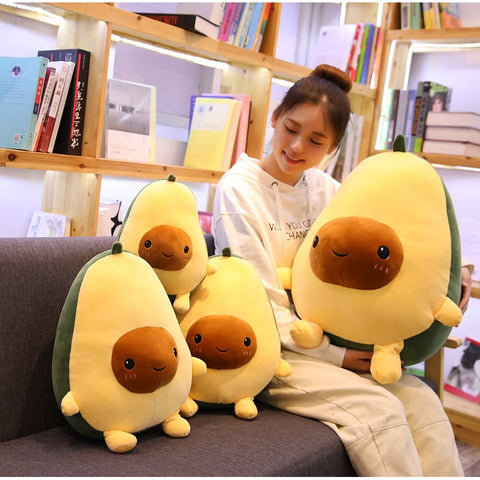 Cute Avocado Stuffed Plush Toy